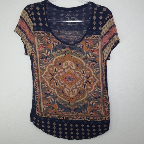 Lucky Brand Tops - LUCKY BRAND Short-Sleeve Top, size M
